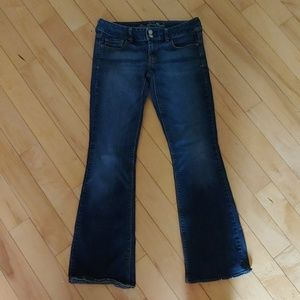 American Eagle artist boot cut jeans size 6